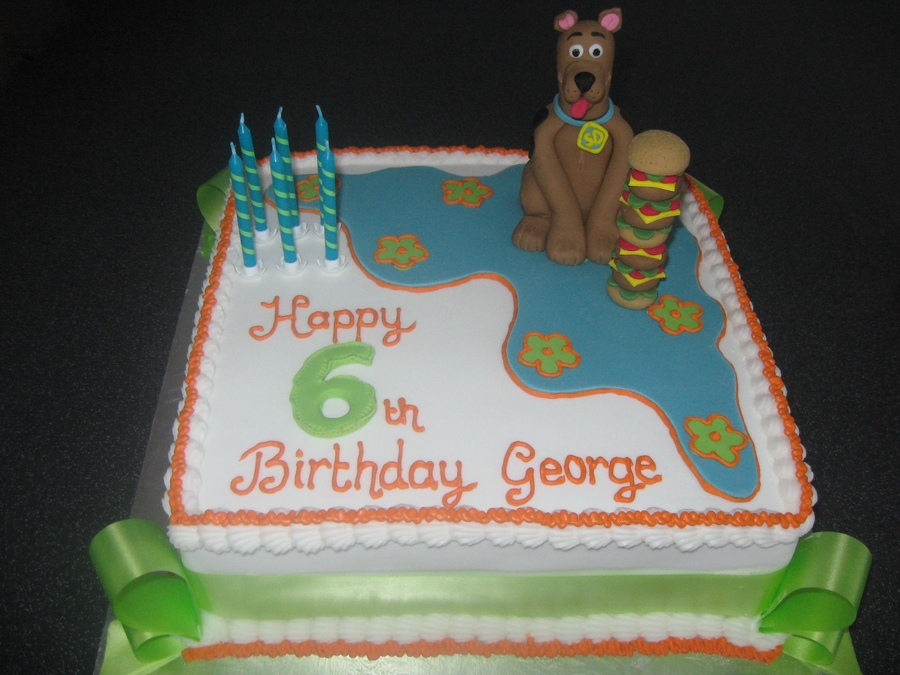 Images of Scooby Doo Cakes
