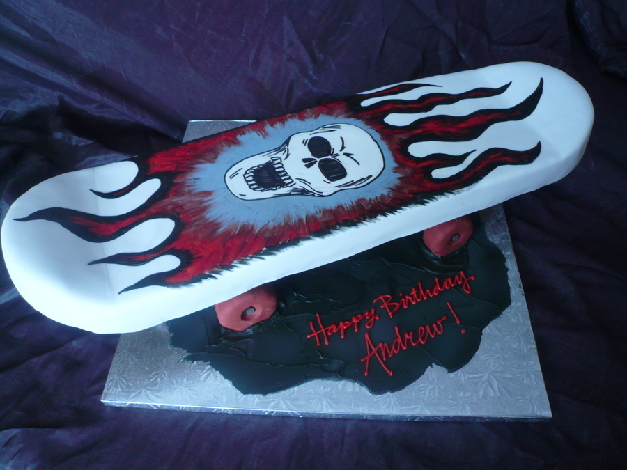 Images of Skateboard Cakes