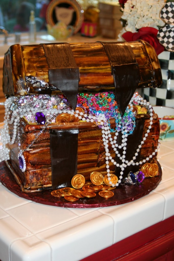 Images of Treasure Chest Cakes