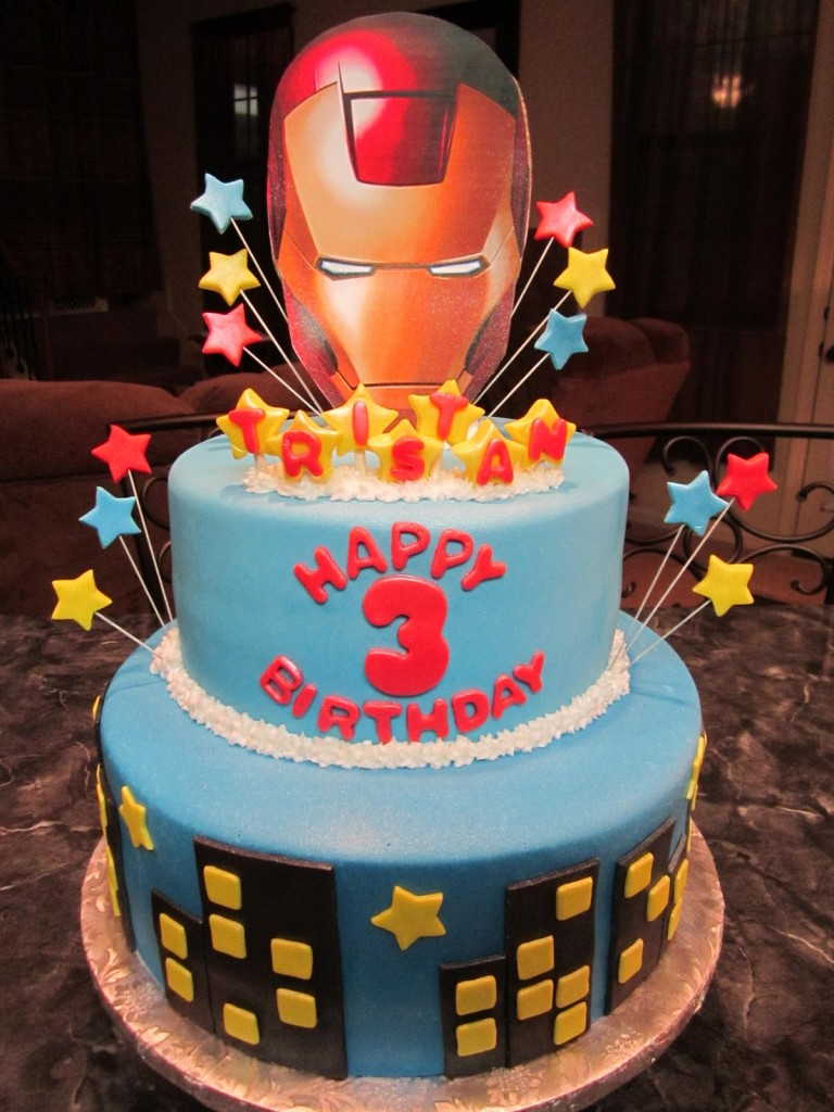 Iron Man Cake Ideas