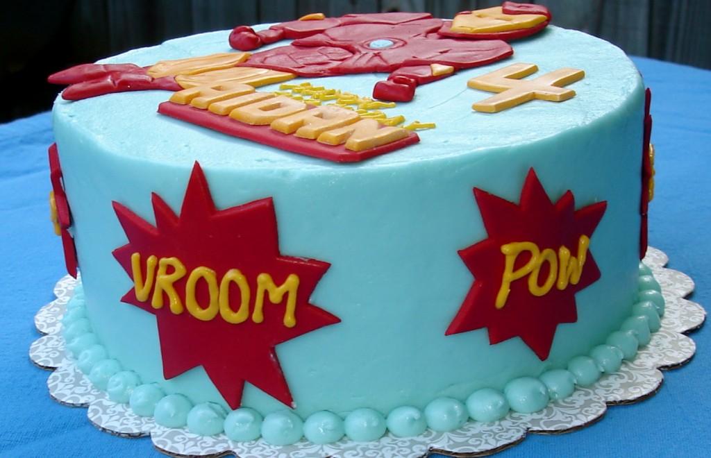Iron Man Cakes