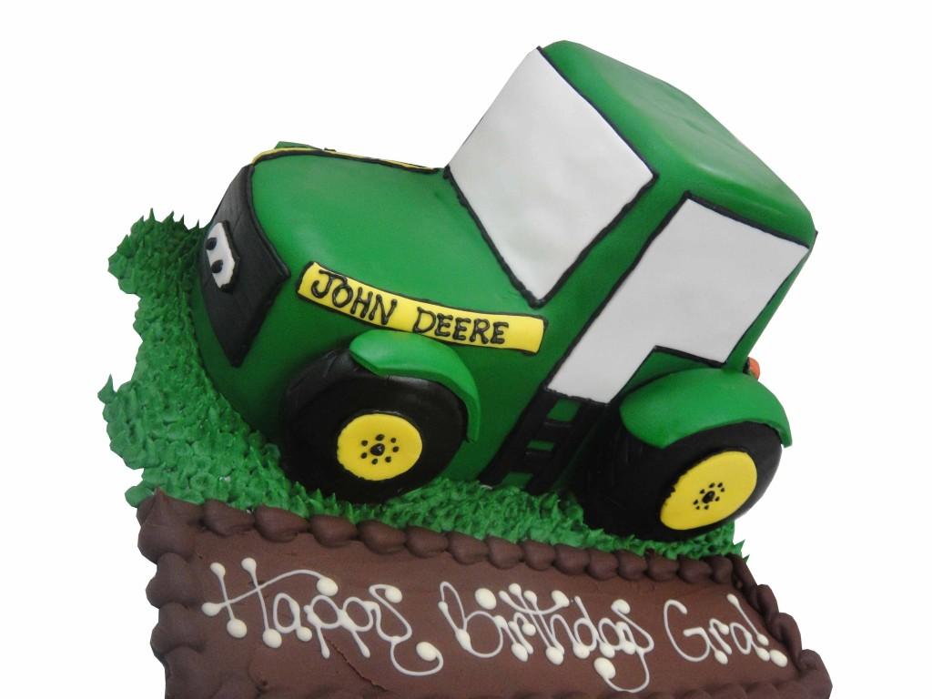 John Deere Tractor Cake Pan