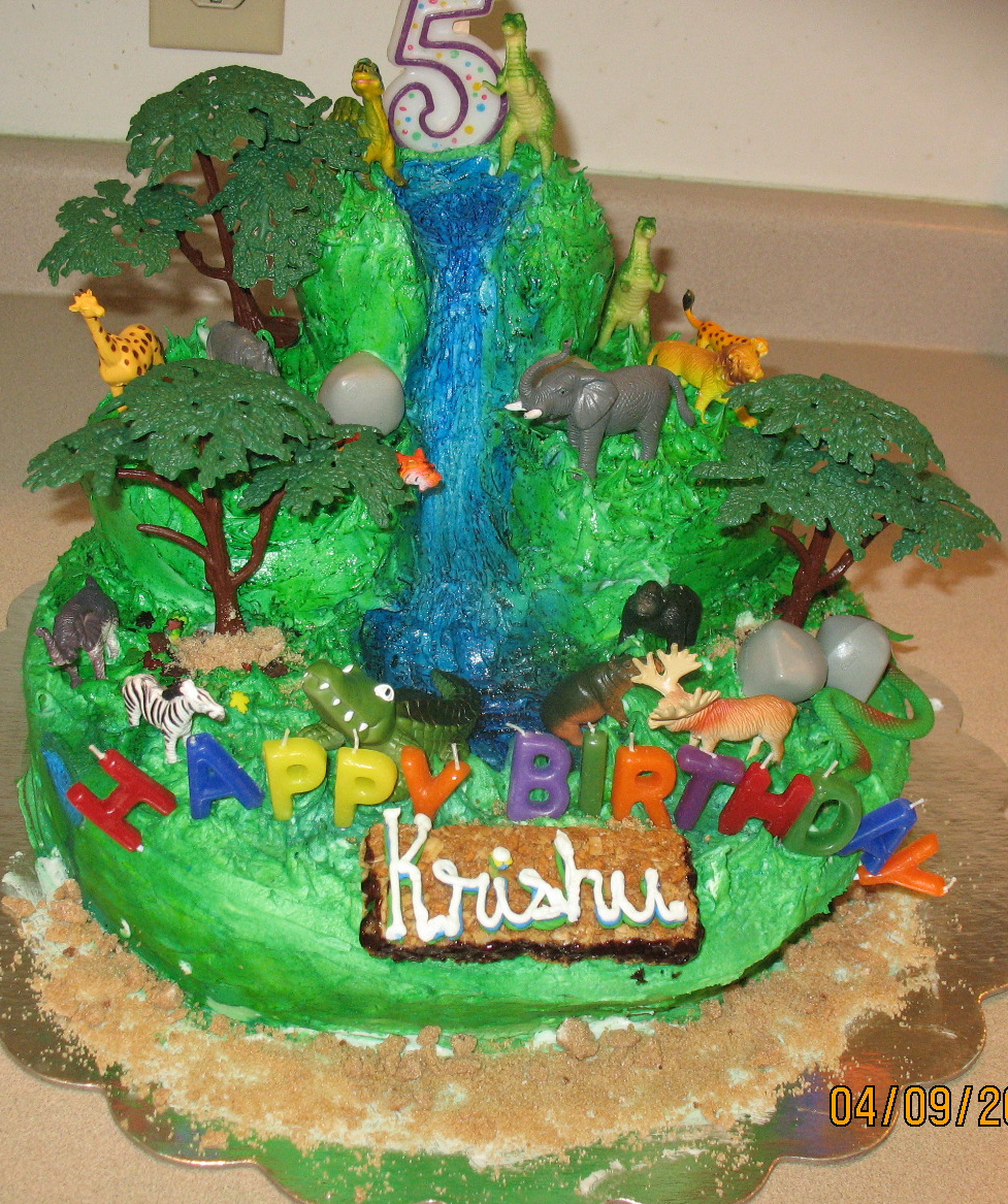 Incredible Jungle Cakes Decoration Ideas Little Birthday Cakes Funny Birthday Cards Online Alyptdamsfinfo