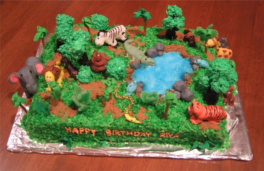 Jungle Themed Cakes