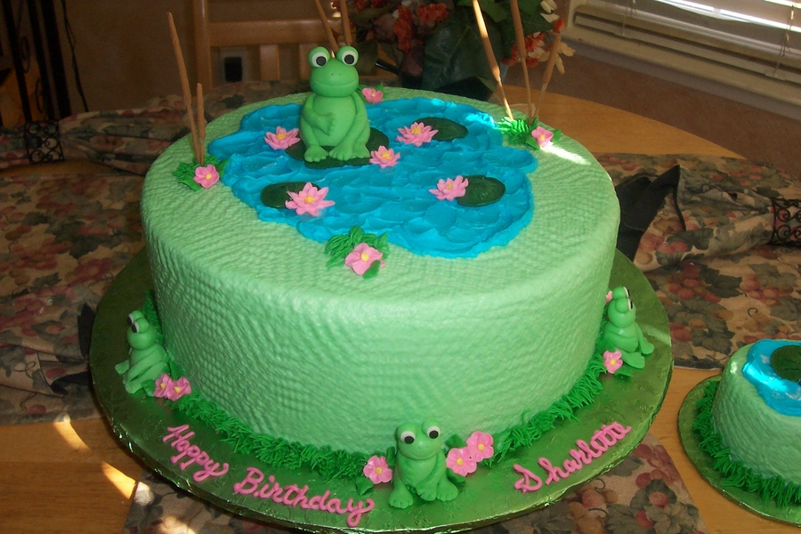 Leap Frog Birthday Cake