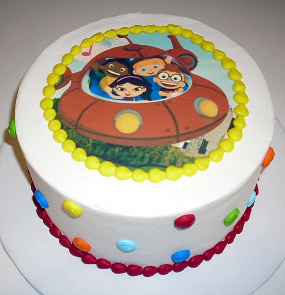 Little Einstein Cake Images