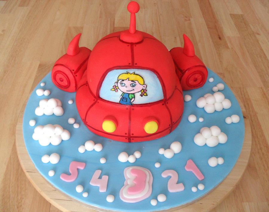 Picture of Little Einsteins Birthday Cake Decorations