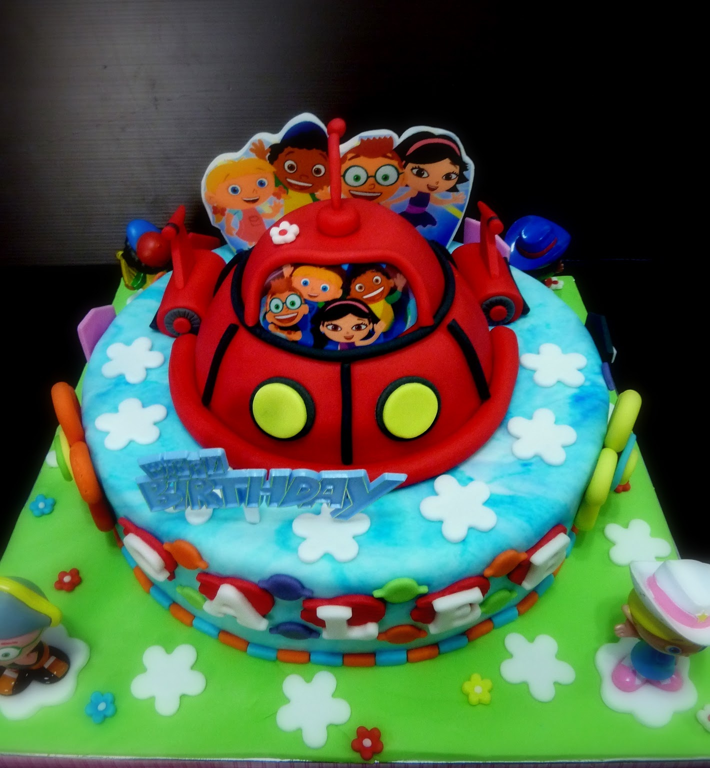 Prime Little Einsteins Cakes Decoration Ideas Little Birthday Cakes Funny Birthday Cards Online Alyptdamsfinfo