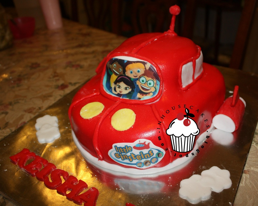 Little Einsteins Birthday Cakes Image