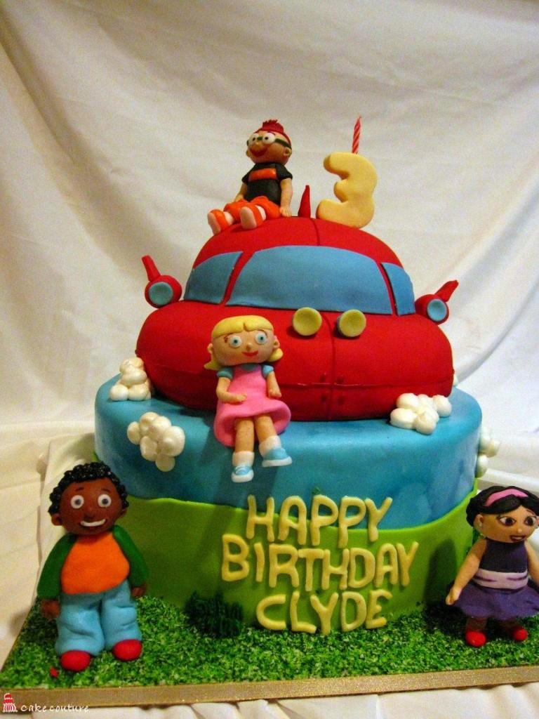 Little Einsteins Birthdays Cake Photo