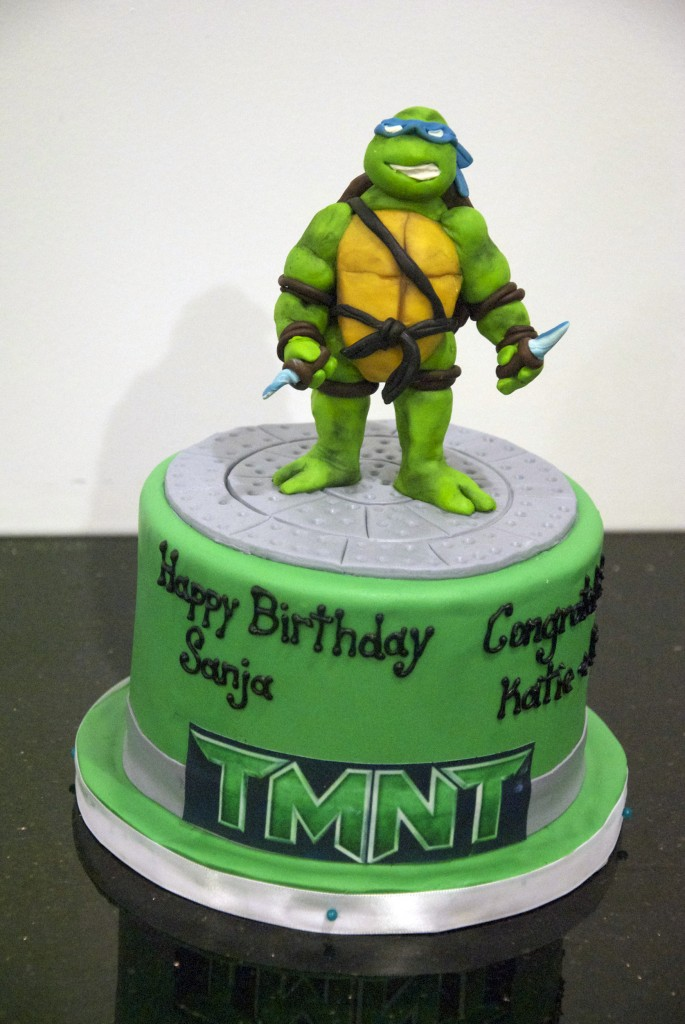 Ninja Turtle Birthday Cake
