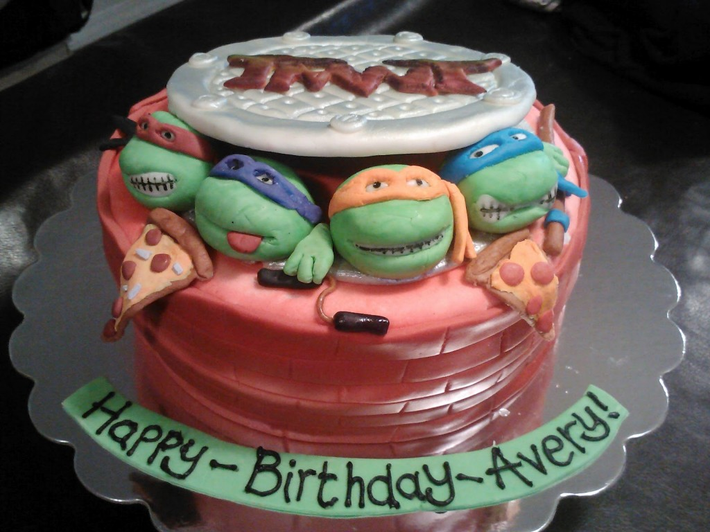 Ninja Turtle Cake Decorations