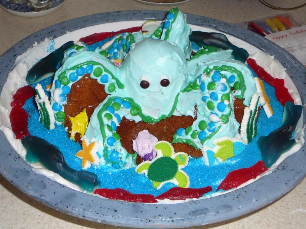 Octopus Cake Ideas