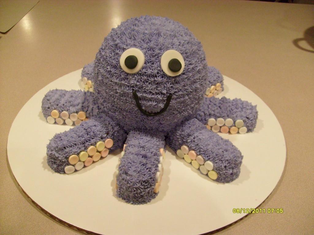 Octopus Cakes Photos