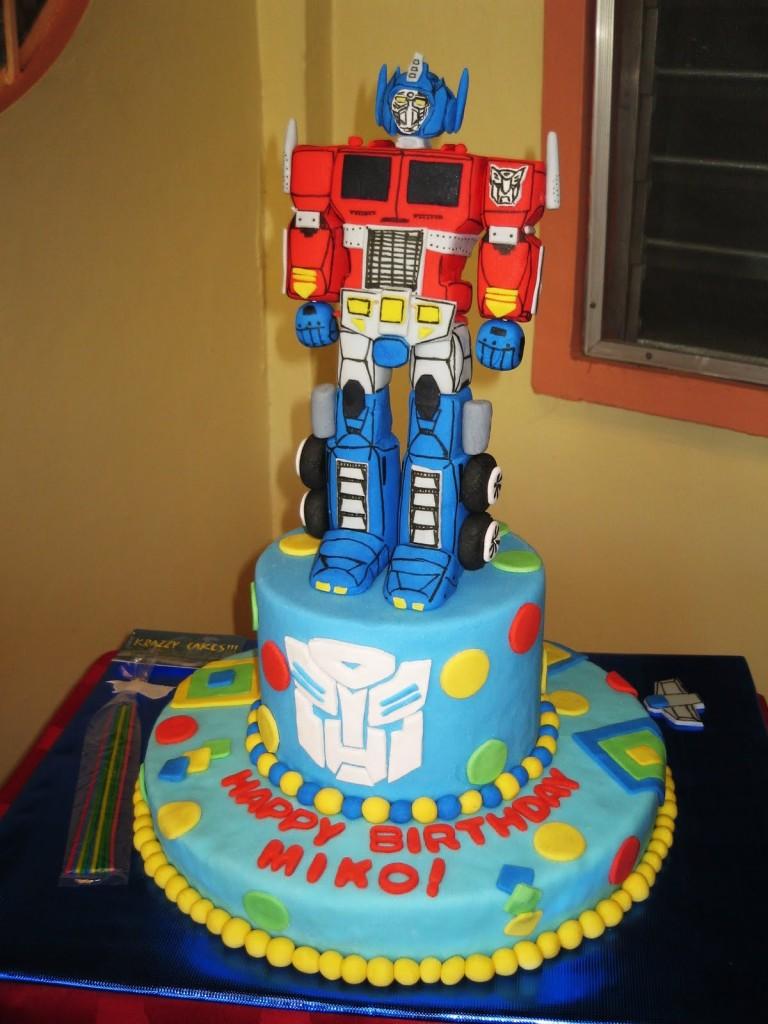 Optimus Prime Cakes