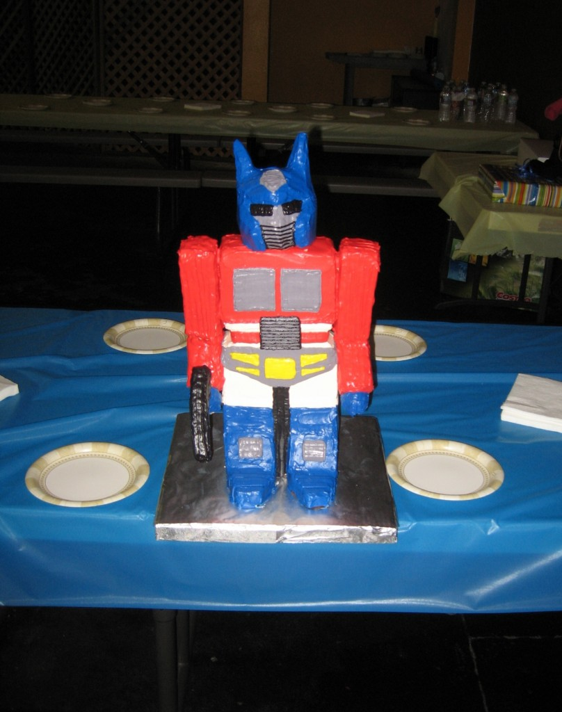 Optimus Prime Cakes Pictures