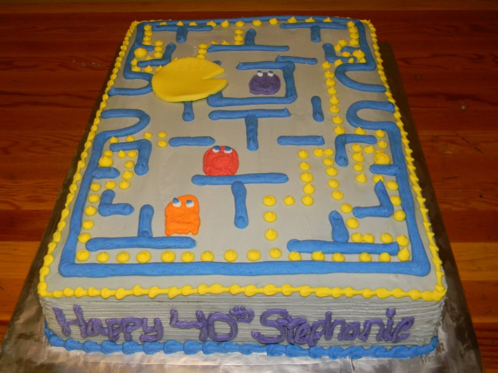 Pacman Birthday Cakes Pictures