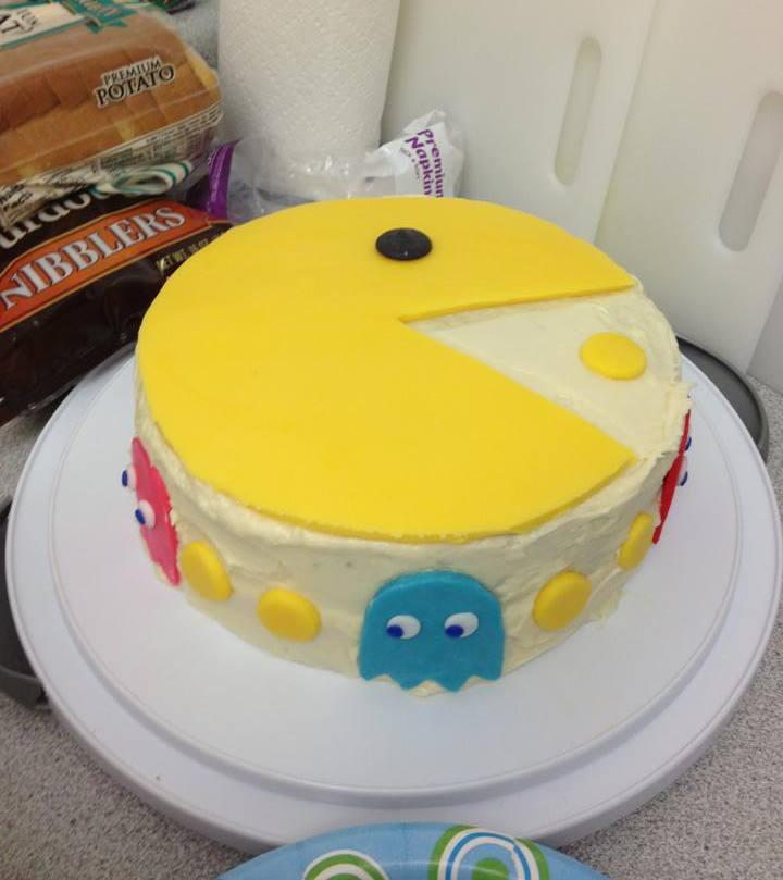 Pacman Cake Designs
