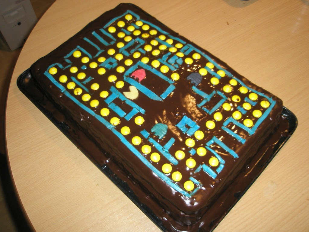 Pacman Cakes