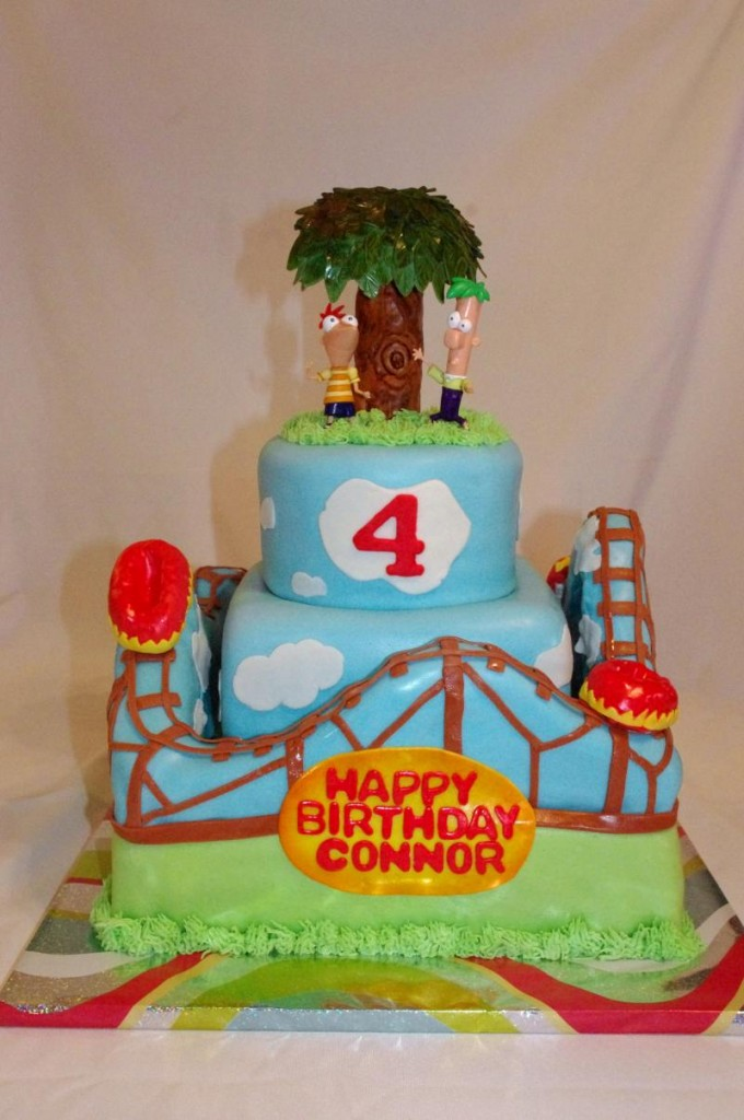 Phineas and Ferb Birthday Cakes Images