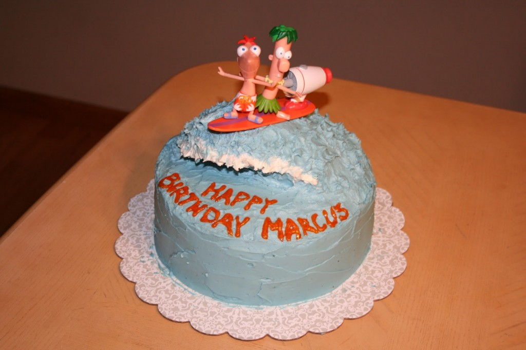 Phineas and Ferb Cake Photo