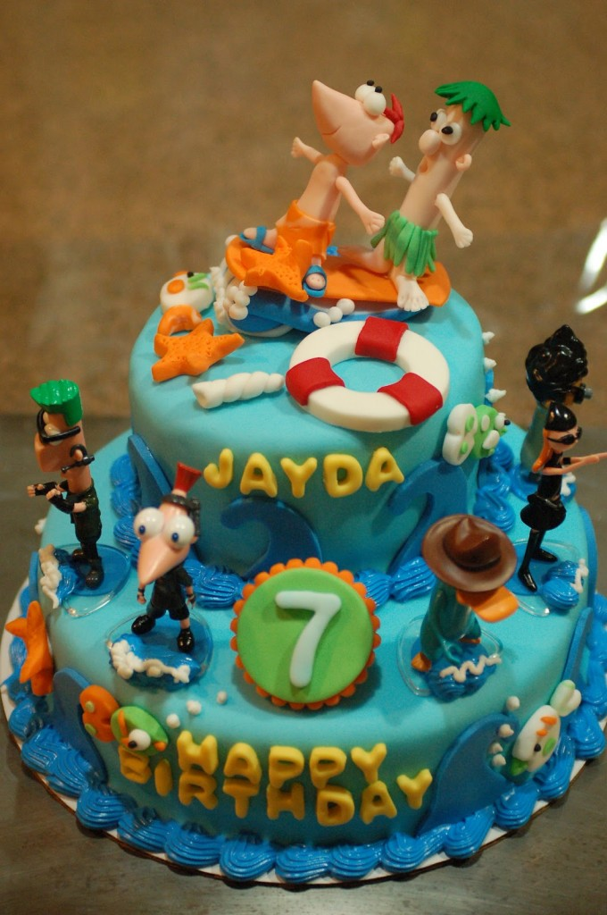 Photos of Phineas and Ferb Cake Ideas
