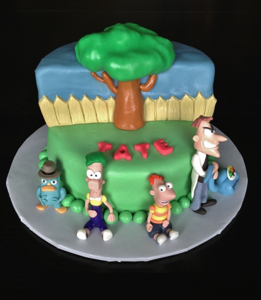Phineas and Ferb Cake Pans Picture