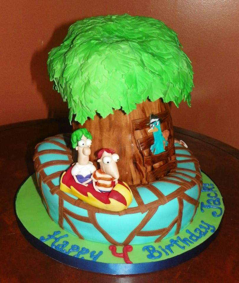 Photos of Phineas and Ferb Cake