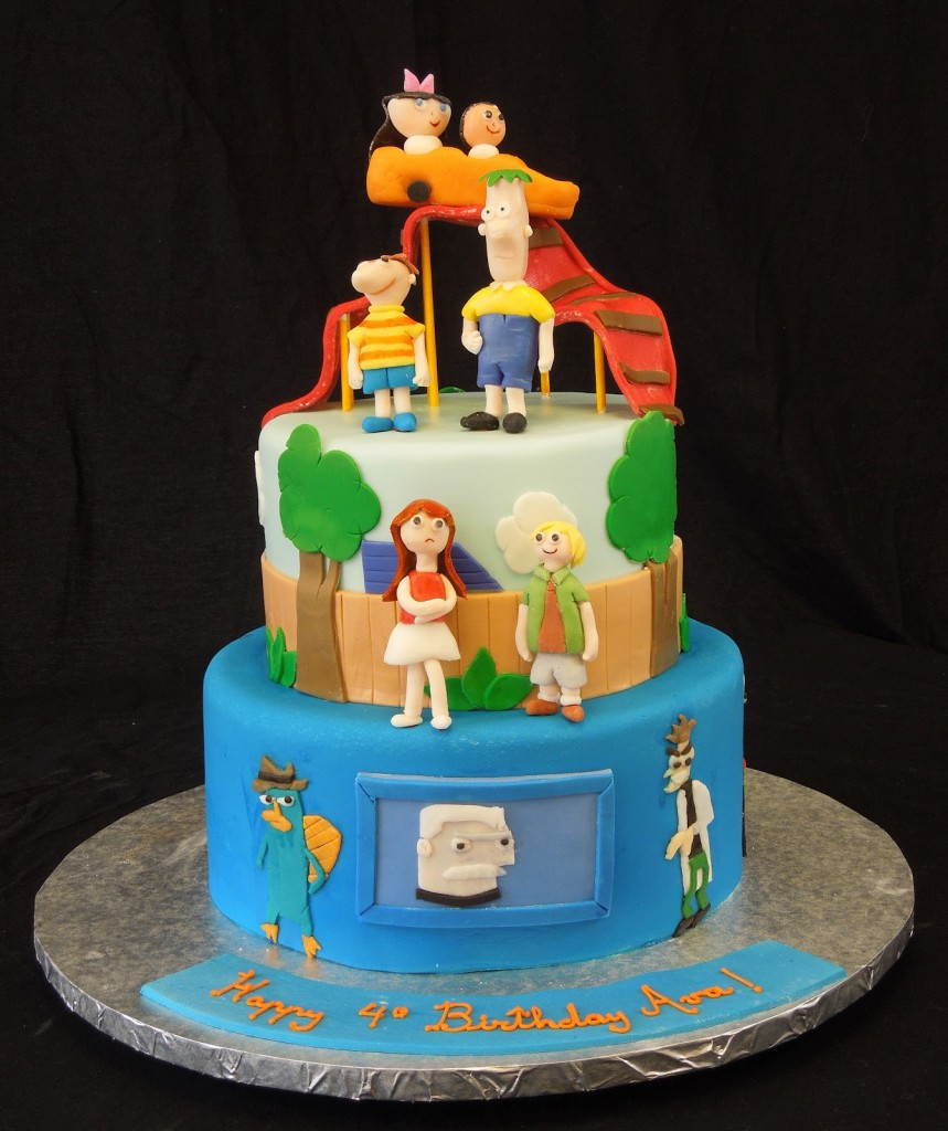 Phineas and Ferb Cakes Photo