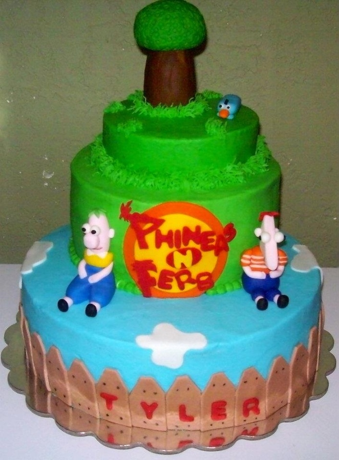 Image of Phineas and Ferb Cakes