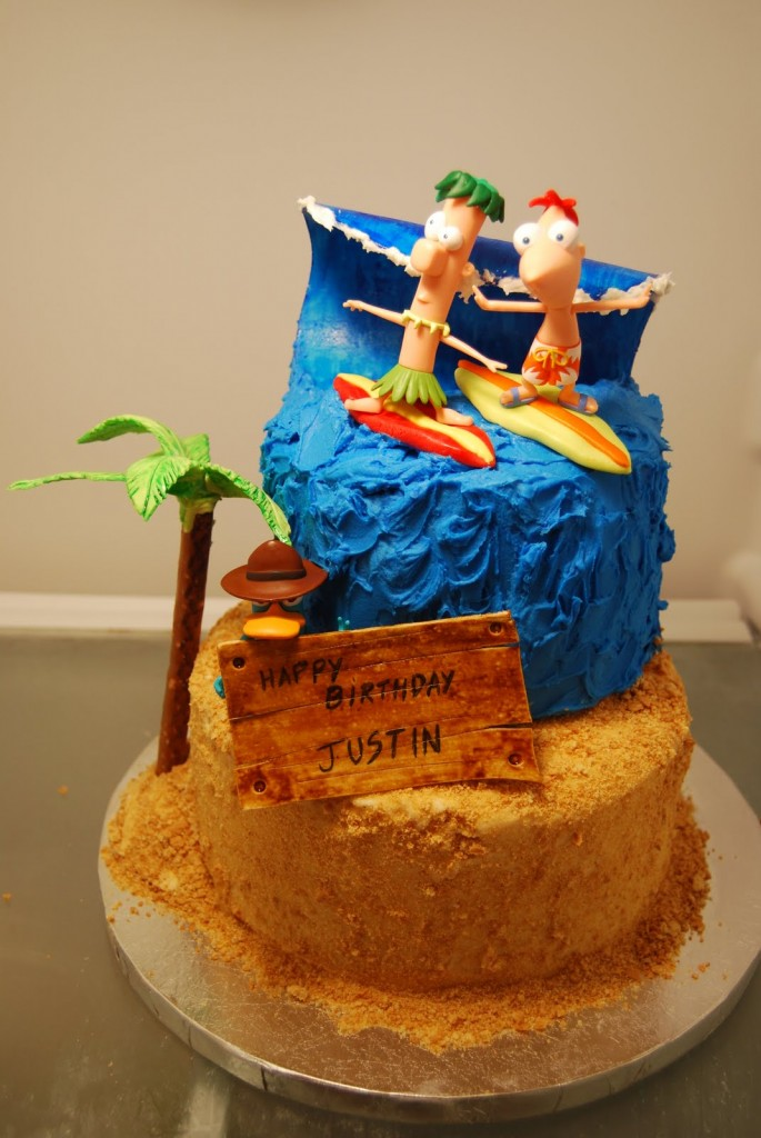 Picture of Phineas and Ferb Cakes