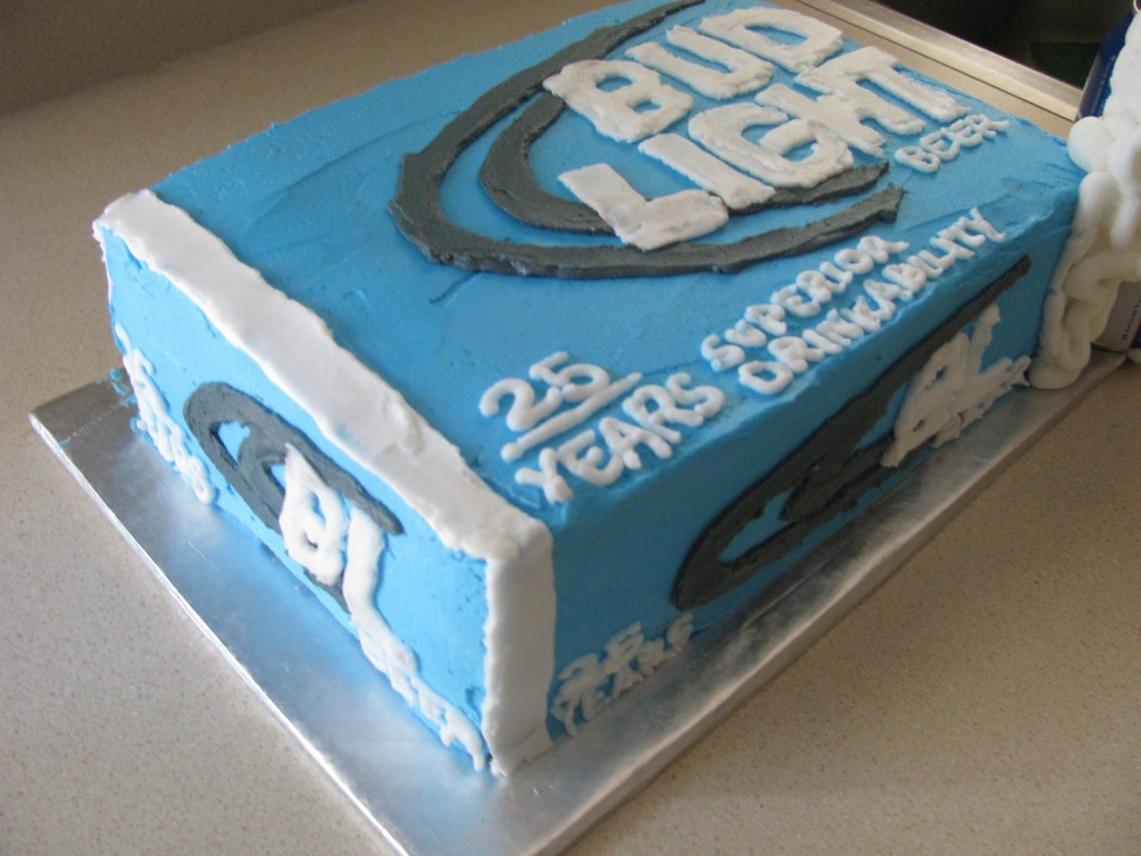 Pictures of Bud Light Cake