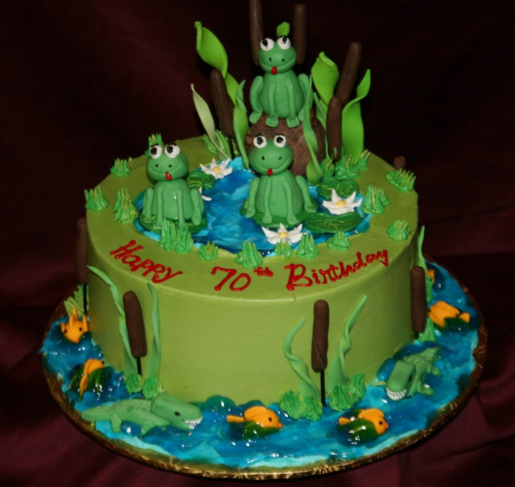 Pictures of Frog Cakes