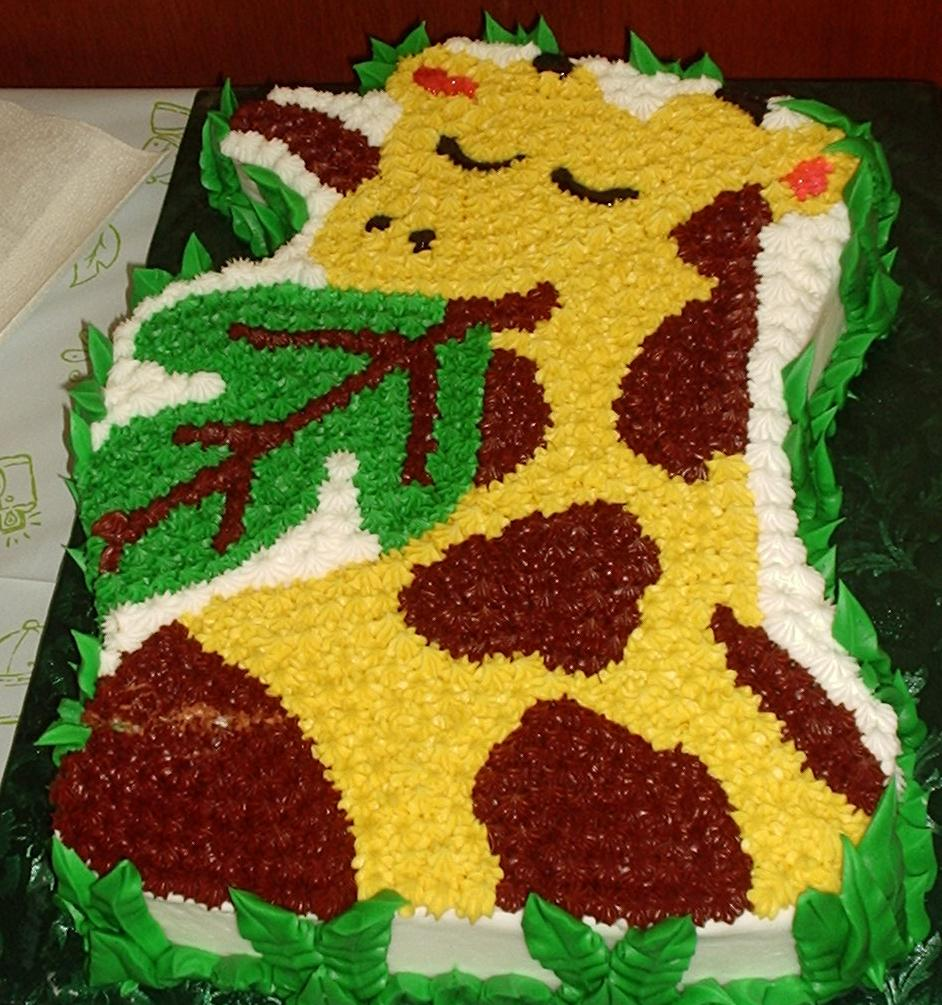 Pictures of Giraffe Cakes