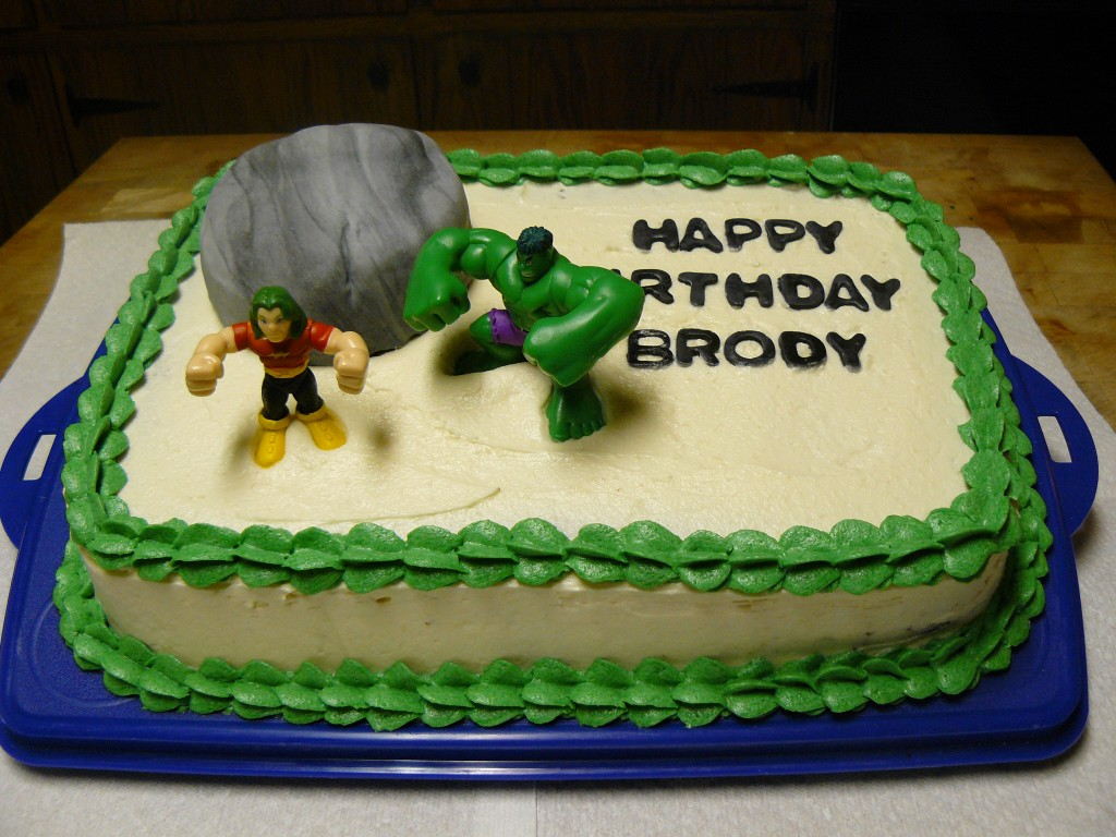 Pictures of Hulk Cakes