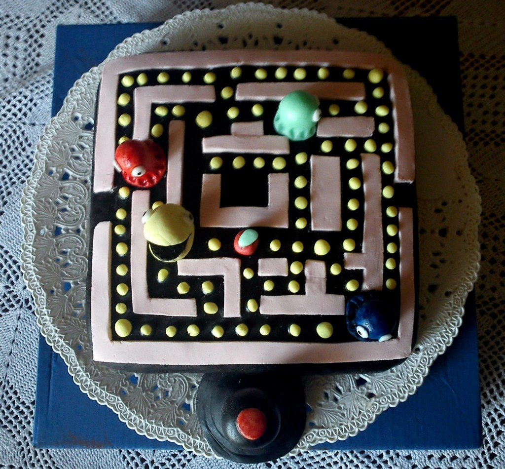 Pictures of Pacman Cakes