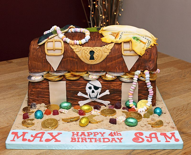 Pictures of Treasure Chest Cakes