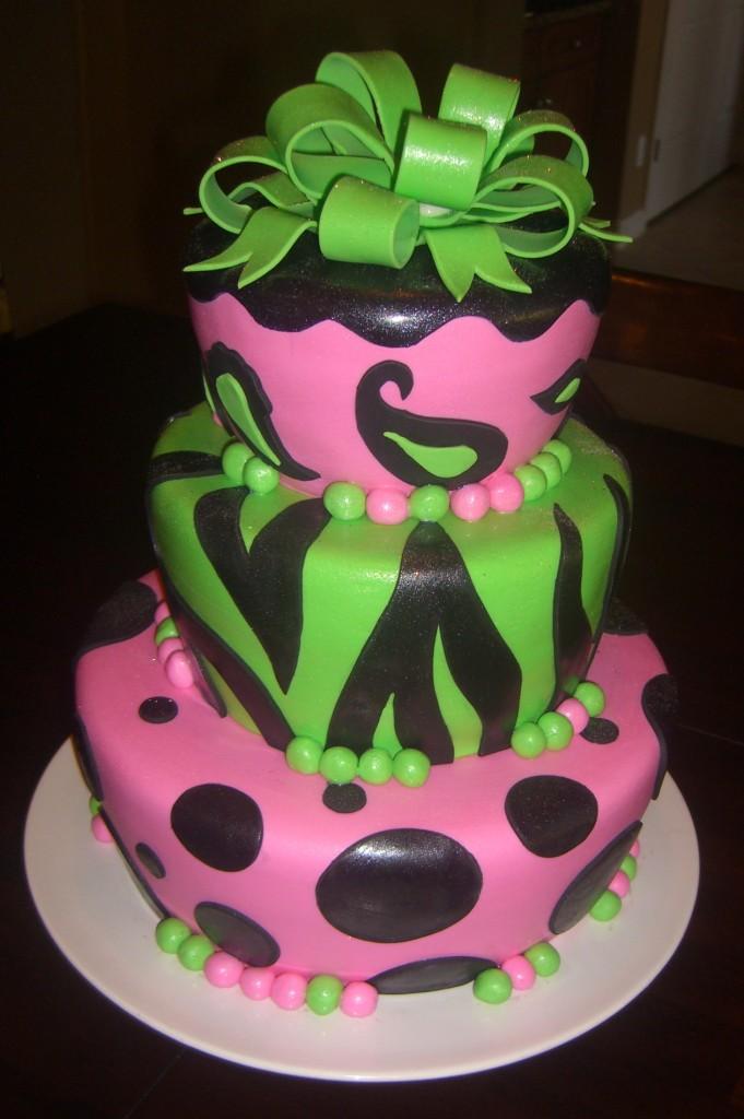Pictures of Zebra Cakes