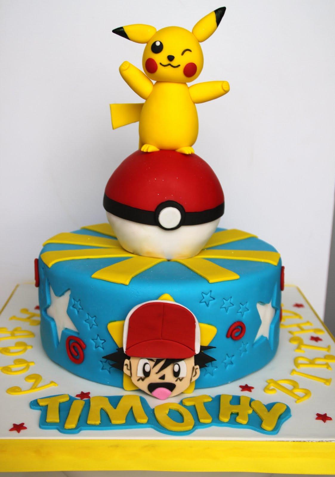 Pleasing Pikachu Cakes Decoration Ideas Little Birthday Cakes Funny Birthday Cards Online Hetedamsfinfo