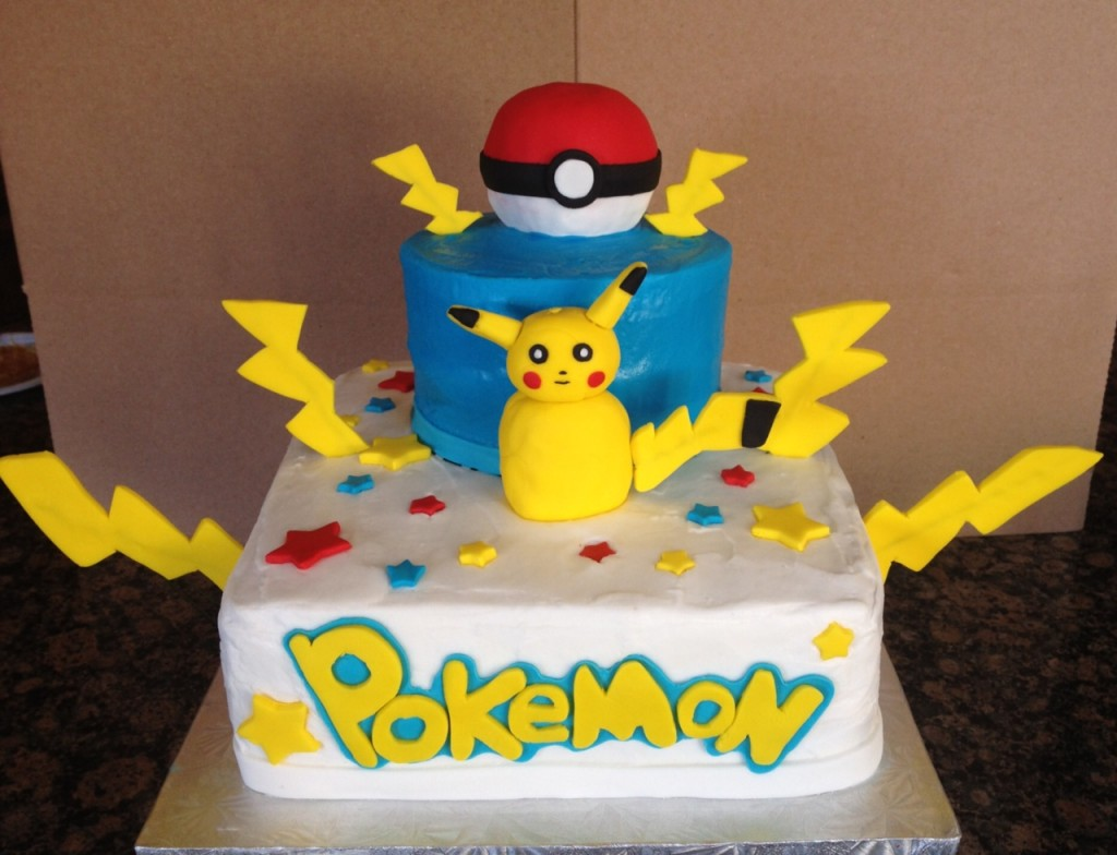 Pikachu Cake Images