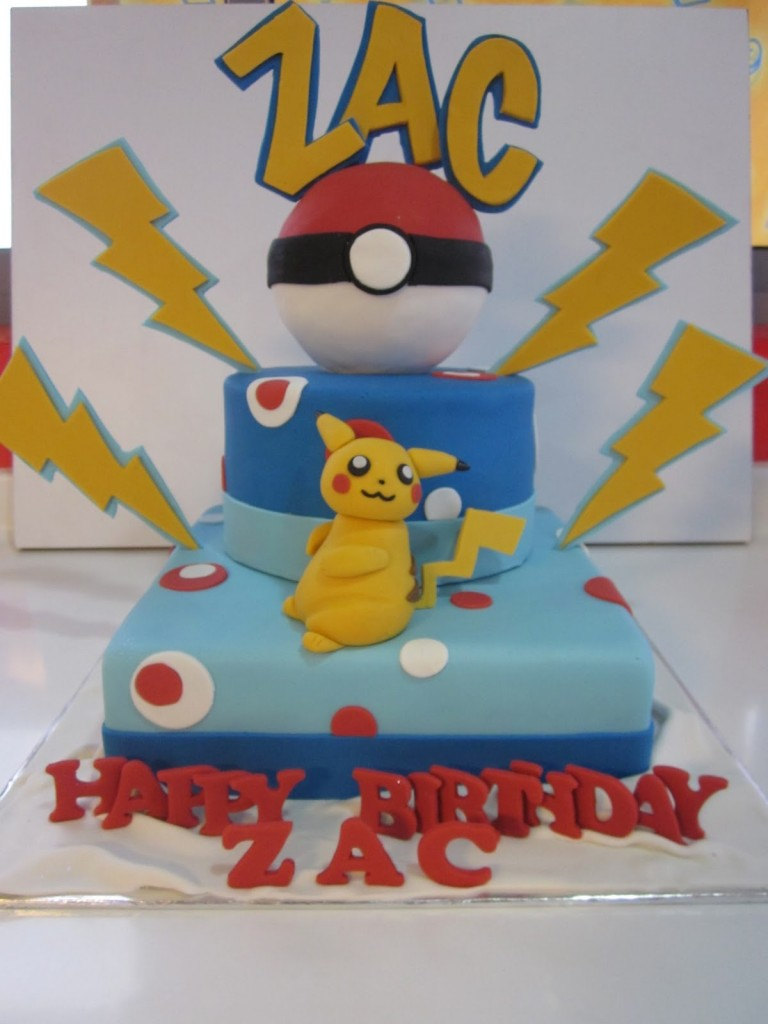 Pikachu Cakes Images