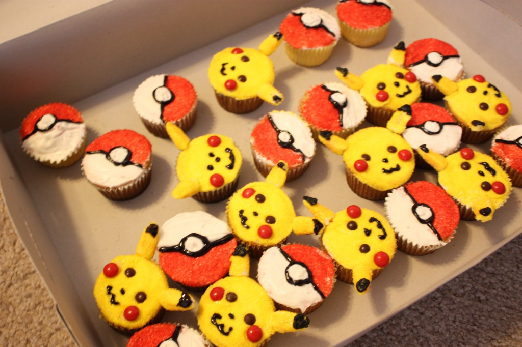Pikachu Cupcake Cakes