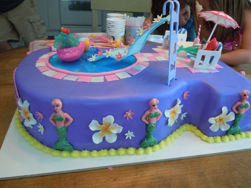 Images Pool Party Cakes