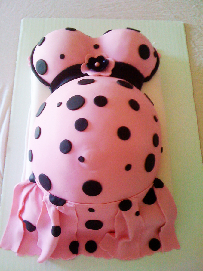 Pregnant Belly Cakes Images