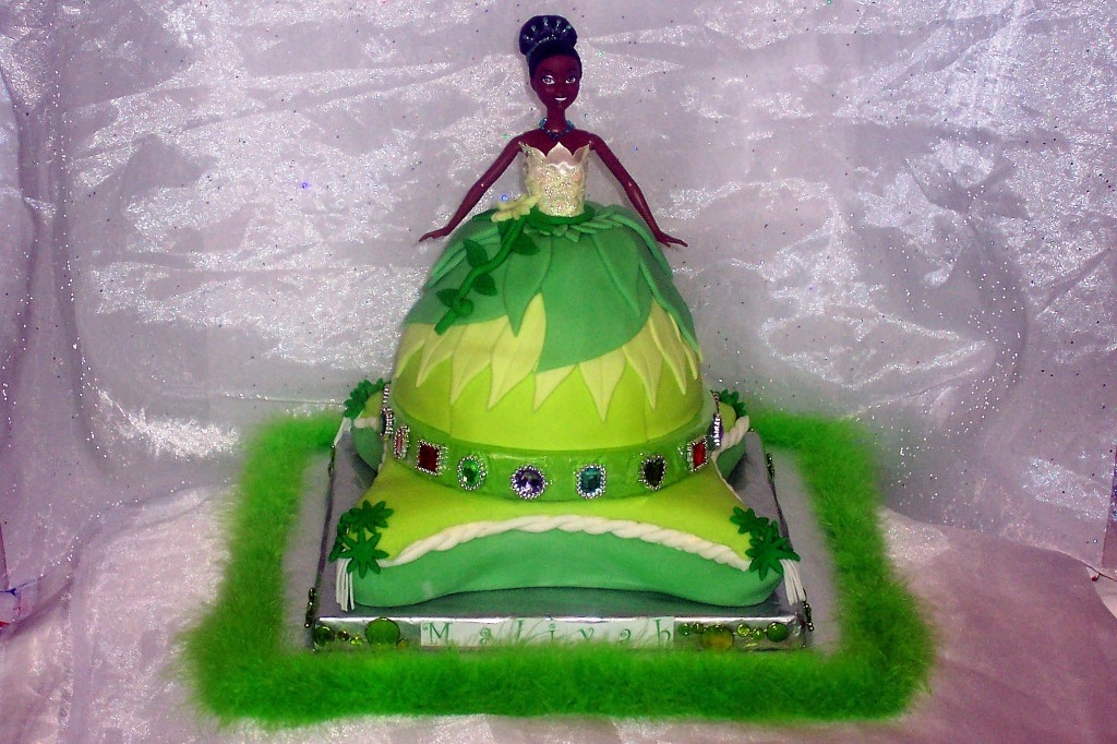 Princess Tiana Birthday Cake Idea