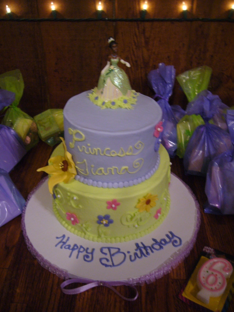 Tremendous Princess Tiana Cakes Decoration Ideas Little Birthday Cakes Personalised Birthday Cards Petedlily Jamesorg