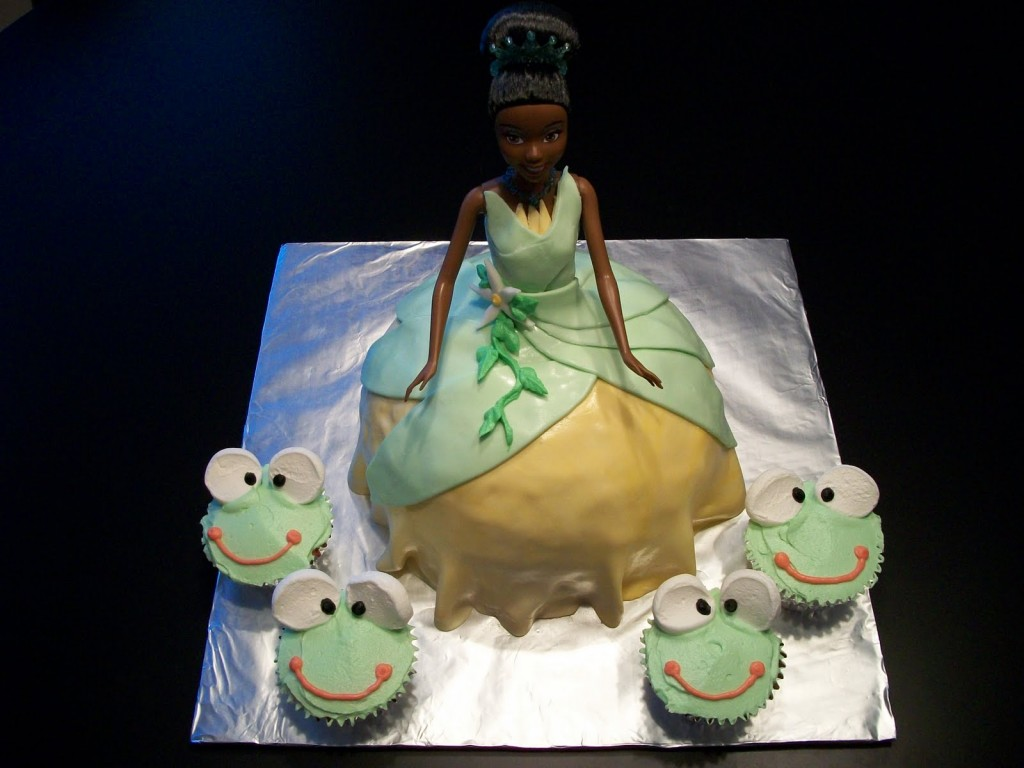 Princess Tiana Birthday Cakes