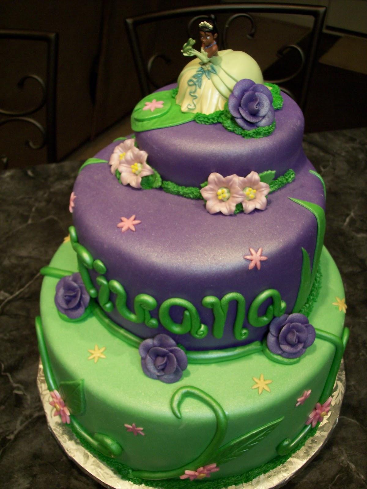 Princess Tiana Cakes Decoration Ideas Little Birthday