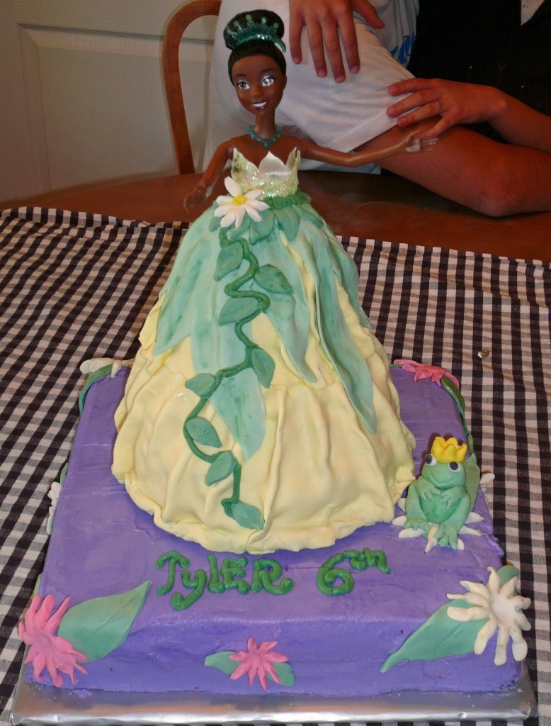 Princess Doll Cake Ideas 110606 Princess Tiana Cakes Decor
