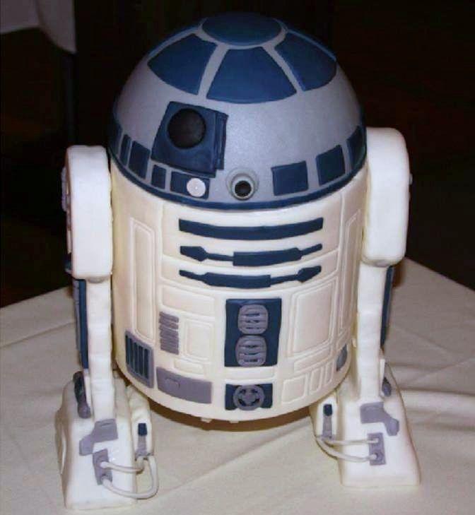 R2D2 Cakes Photos